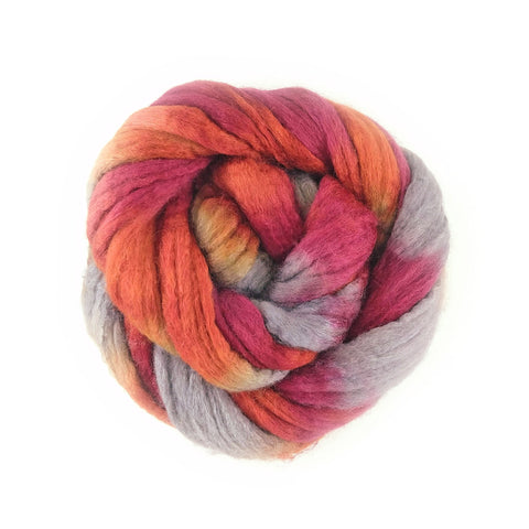 Pendleton Colorway;<br> BFL-Silk 75-25 Fiber