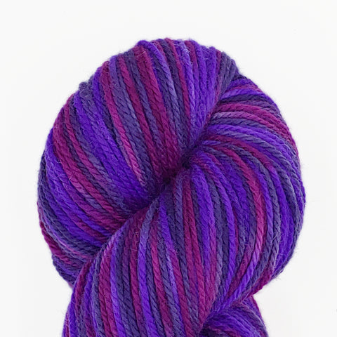 Prince colorway; Dakota Yarn<br>Worsted Weight<br>Targhee 100