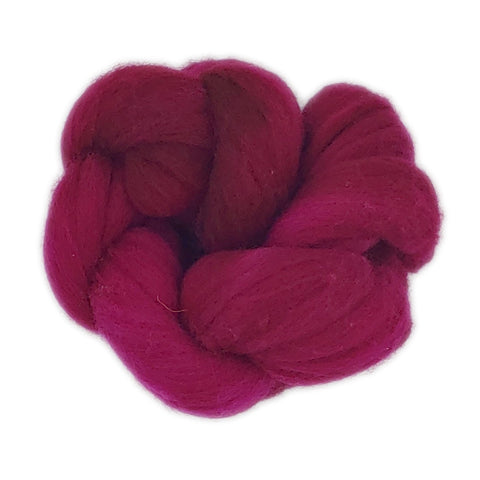 Raspberry <br>Rambouillet Fiber<br>Breed Bit