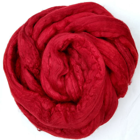 Red Color;<br>Polwarth-Silk Fiber