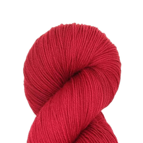 Red color<br>SuperSock+;<br>Sock Weight Yarn;<br>SW Merino-Nylon