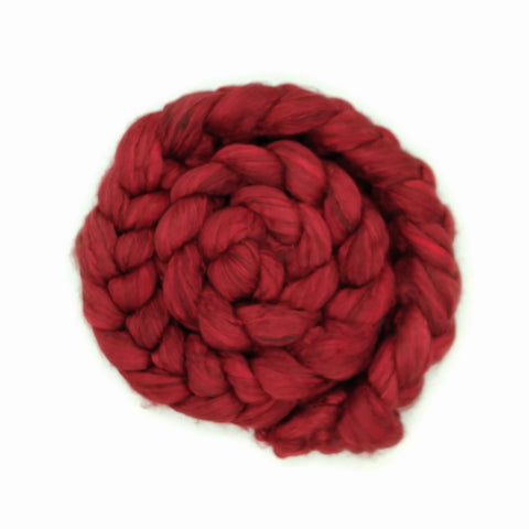 Red Color;<br>Yak-Silk Fiber