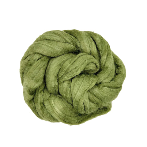 Sage Color;<br>BFL-Silk Fiber