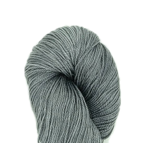 Silver Color<br>Alex Yarn;<br>Sock-Weight;<br>SW Merino-Tencel 50-50