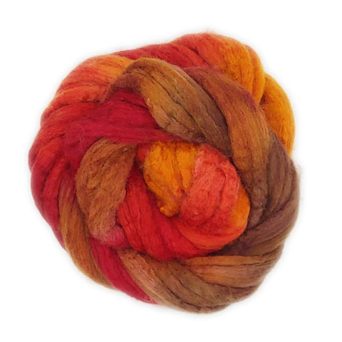 Soar Colorway;<br>BFL-Silk Fiber