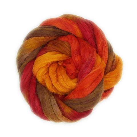 Soar Colorway;<br>Polwarth-Silk Fiber