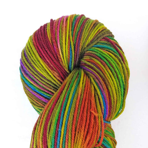 Laurelhurst Colorway;<br>Temptation Yarn<br>Sock Weight<br>Merino-Cashmere-Nylon<br>70-20-10
