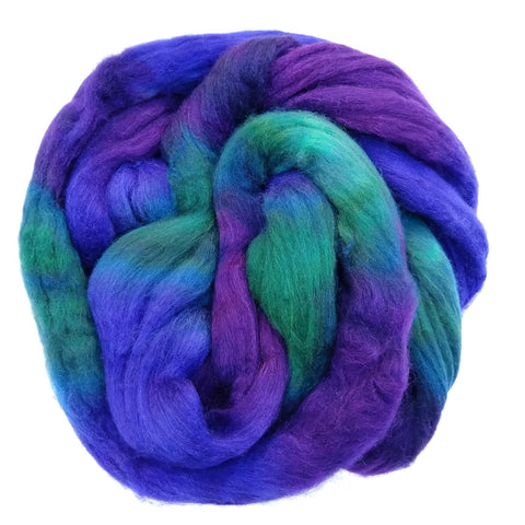 Twist Colorway; <br> Mixed Merino-Silk Fiber
