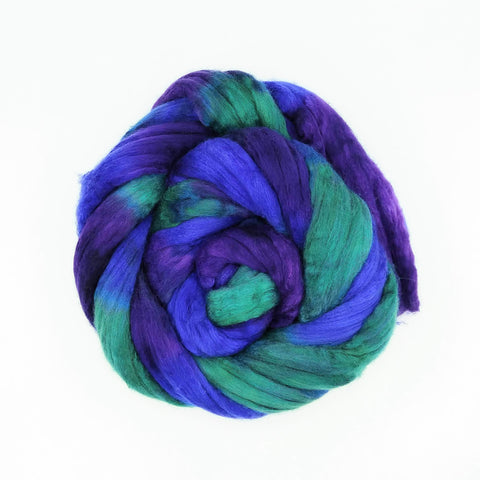 Twist Colorway;<br> Polwarth-Silk Fiber