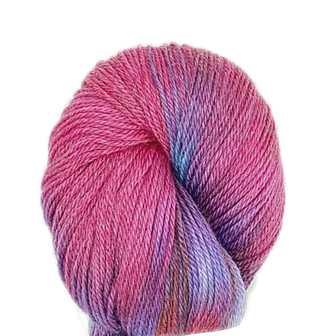 Valentine Colorway;<br>Alex Yarn;<br>Sock-Weight;<br>SW Merino-Tencel 50-50