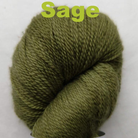 Sage Color;<br>Vines - Yarn;<br>Lace Weight;<br>Merino-Cashmere-Nylon;<br>80-10-10
