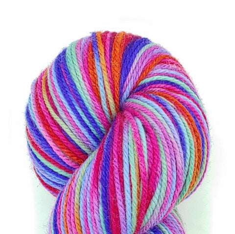 Valentine Colorway; <br>Dakota Yarn;<br>Worsted Weight;<br>Targhee 100