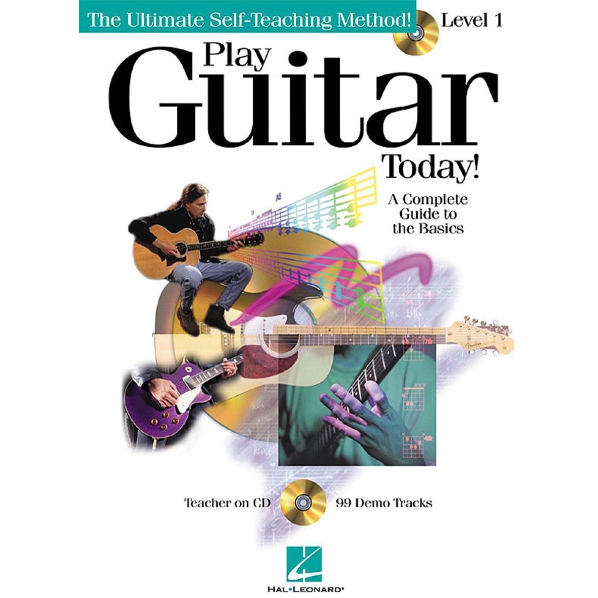 Hal Leonard Play Guitar Today Level 1 Book and CD