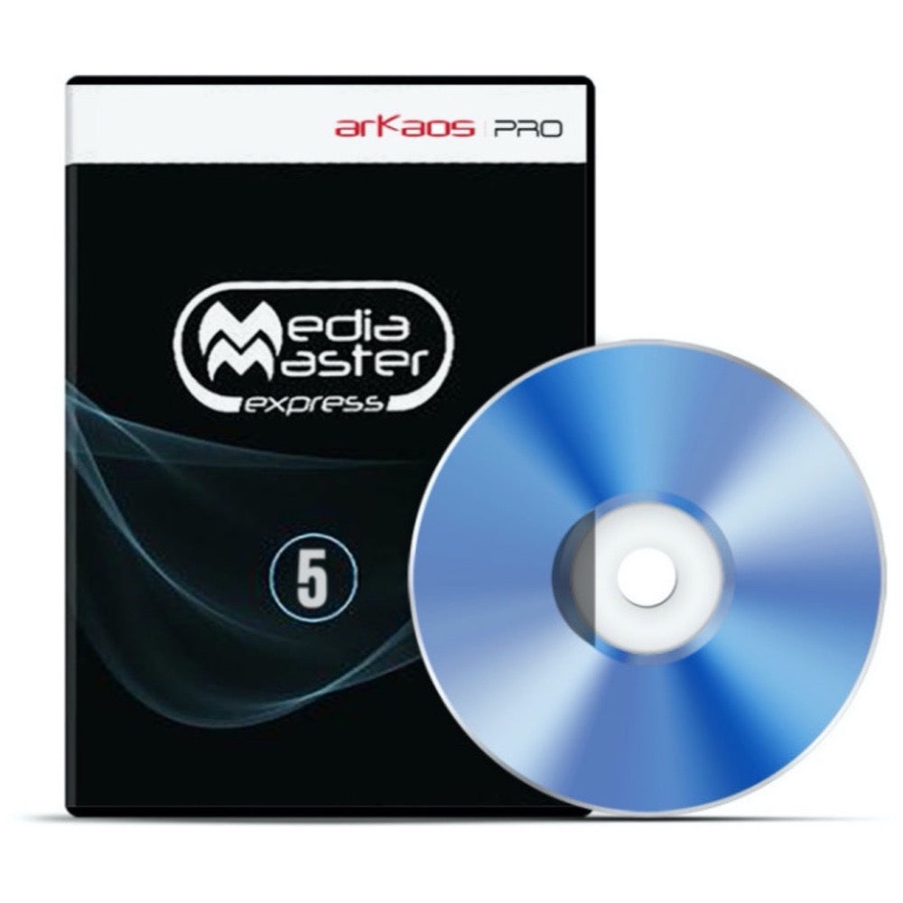ADJ Media Master Express Software for Video Pan