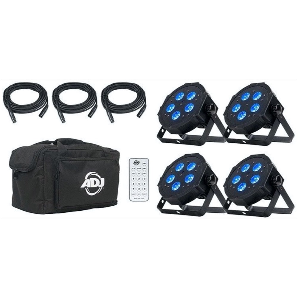 ADJ Mega Flat Hex Pak Stage Lighting System