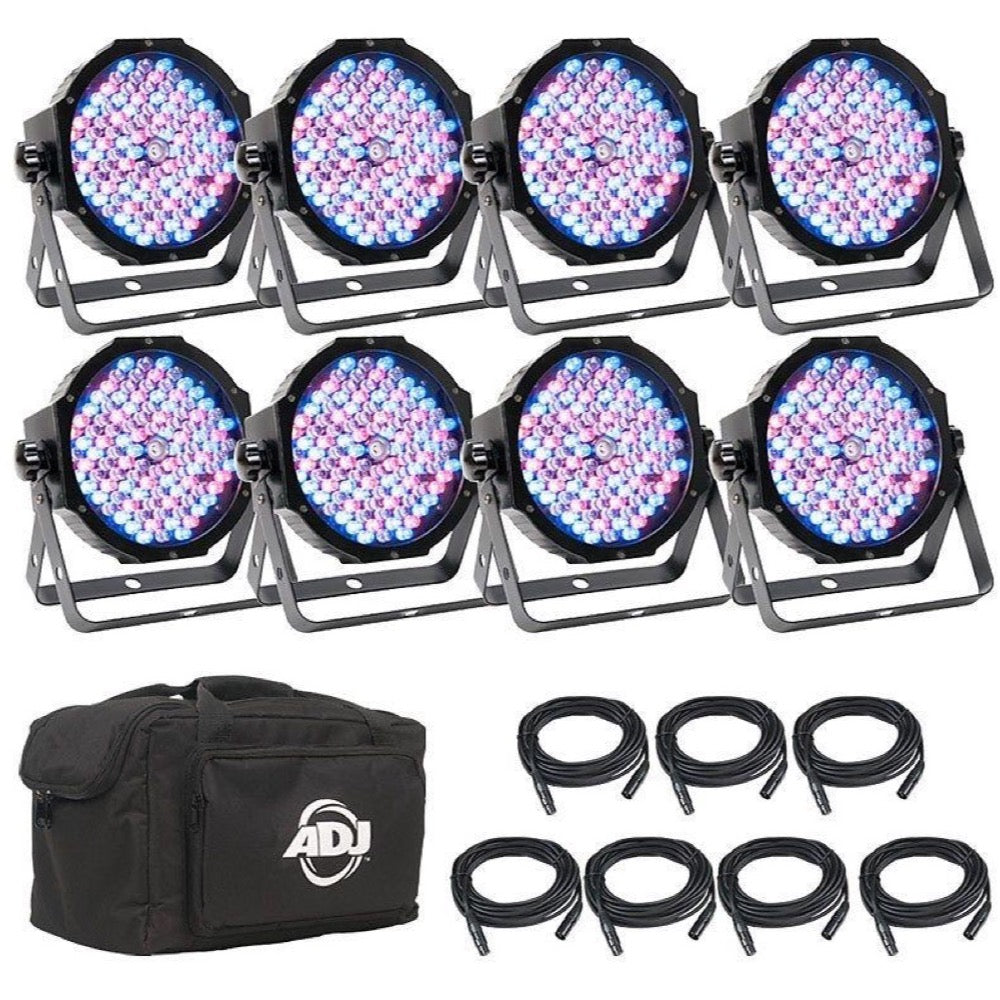 ADJ Mega Flat Pak 8 Plus Stage Lighting System