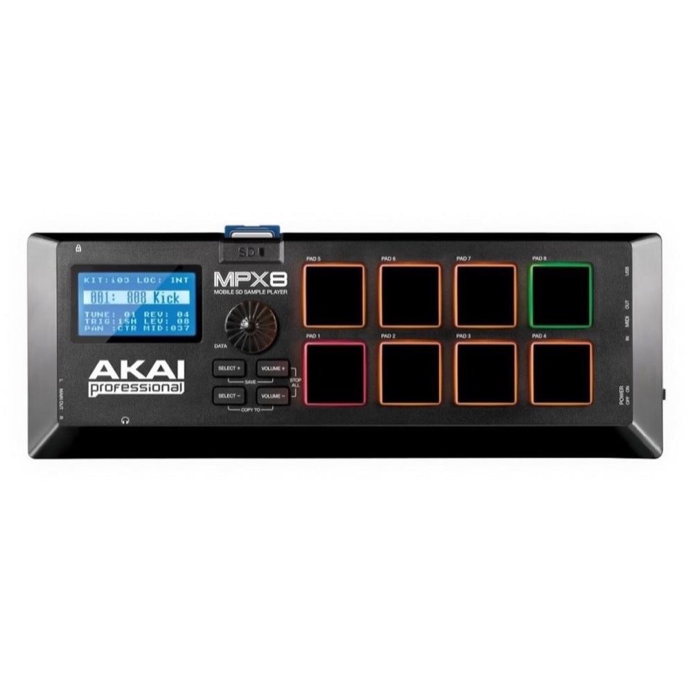 Akai MPX8 Mobile SD Card Sample Player
