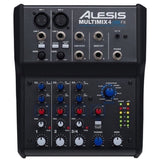 Load image into Gallery viewer, Alesis MultiMix 4 USB FX Mixer, 4-Channel Mixer with FX