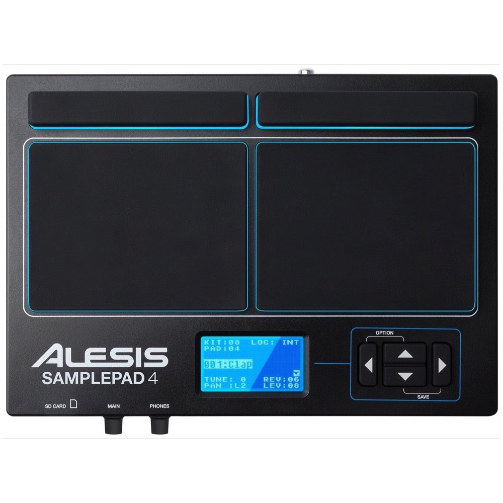 Alesis SamplePad 4 Multi-Pad Sample Drum Instrument