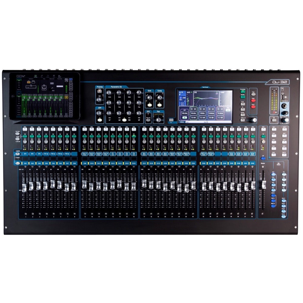 Allen and Heath Qu-32C Digital Mixer, 32-Channel