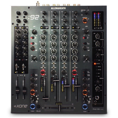 Allen and Heath Xone92 DJ Mixer, 6-Channel