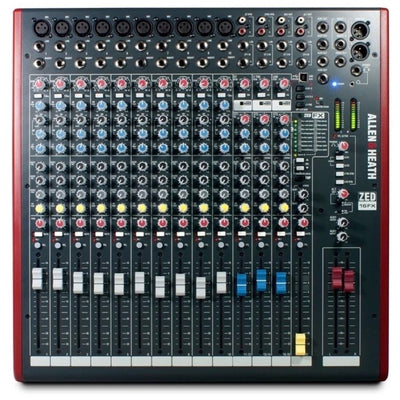 Allen and Heath ZED-16FX 16-Channel Mixer with USB Interface