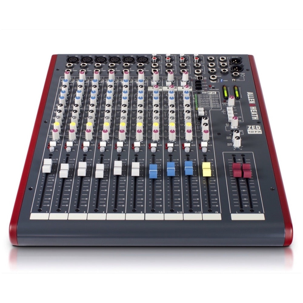 Allen and Heath ZED12FX 12-Channel Mixer with USB Interface