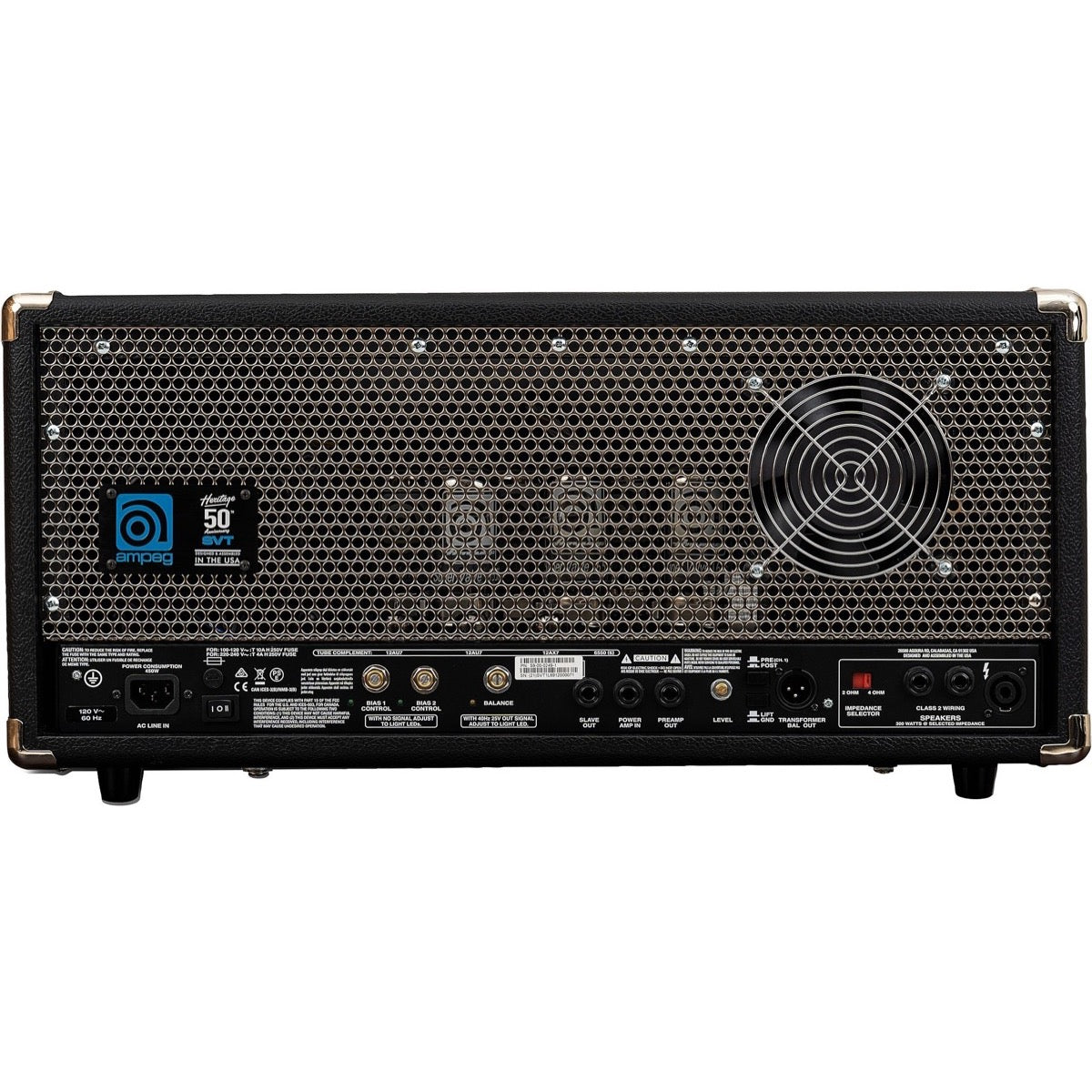 Ampeg Heritage 50th Anniversary SVT Bass Amplifier Head (300 Watts)