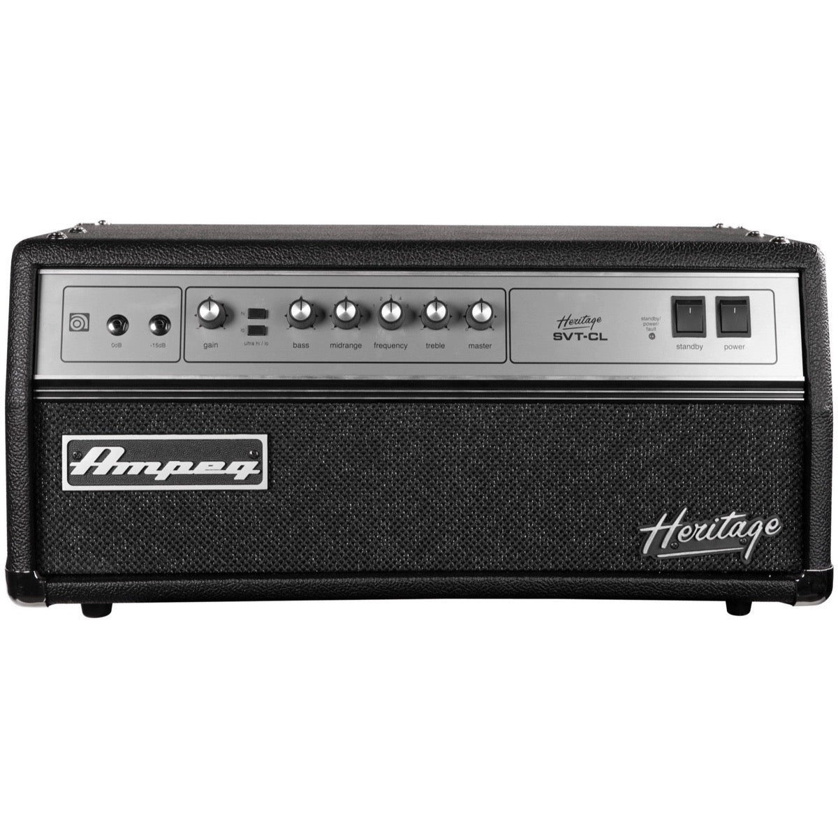 Ampeg Heritage SVT-CL 2011 Bass Amplifier Head, 300 Watts