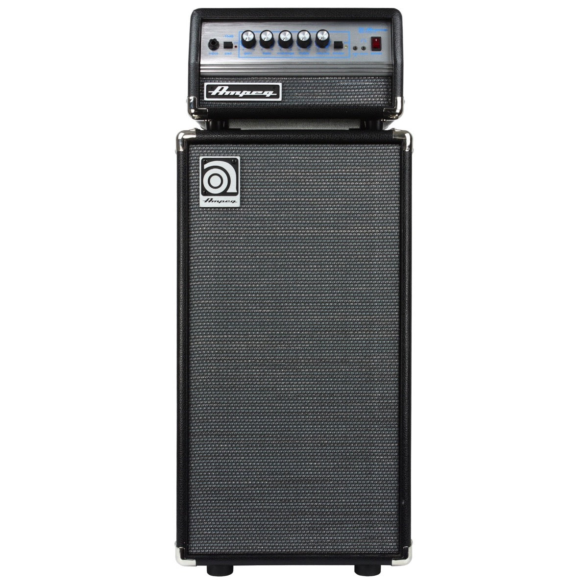 Ampeg Micro VR Bass Amplifier Half Stack with SVT Micro VR Head and SVT210AV Micro Classic Cabinet