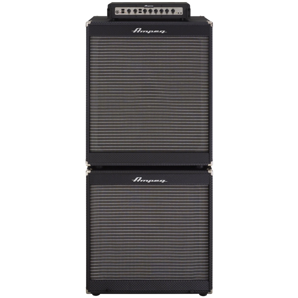 Ampeg Portaflex Head and Dual Cabinet Bass Amplifier Stack