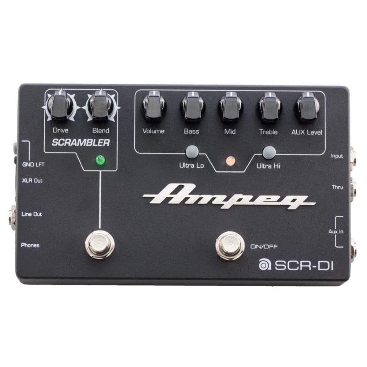 Ampeg SCR-DI Bass DI Direct Box with Scrambler Overdrive