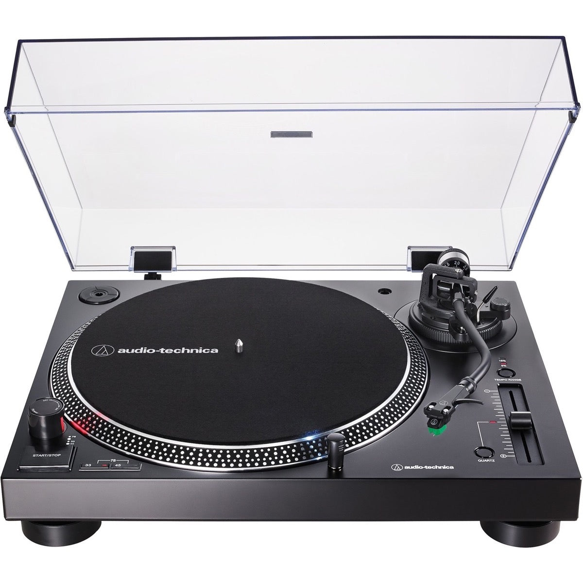 Audio-Technica AT-LP120XUSB Direct-Drive Turntable, Black
