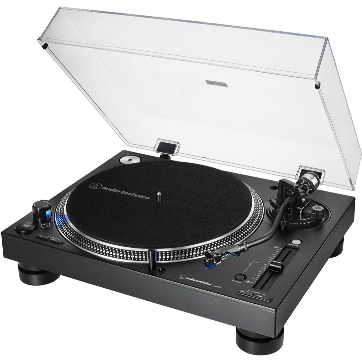 Audio-Technica AT-LP140XP Direct-Drive Turntable, Black