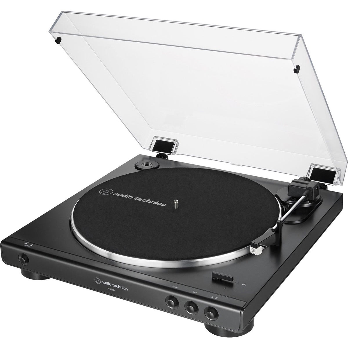 Audio-Technica AT-LP60X Belt-Drive Turntable, Black