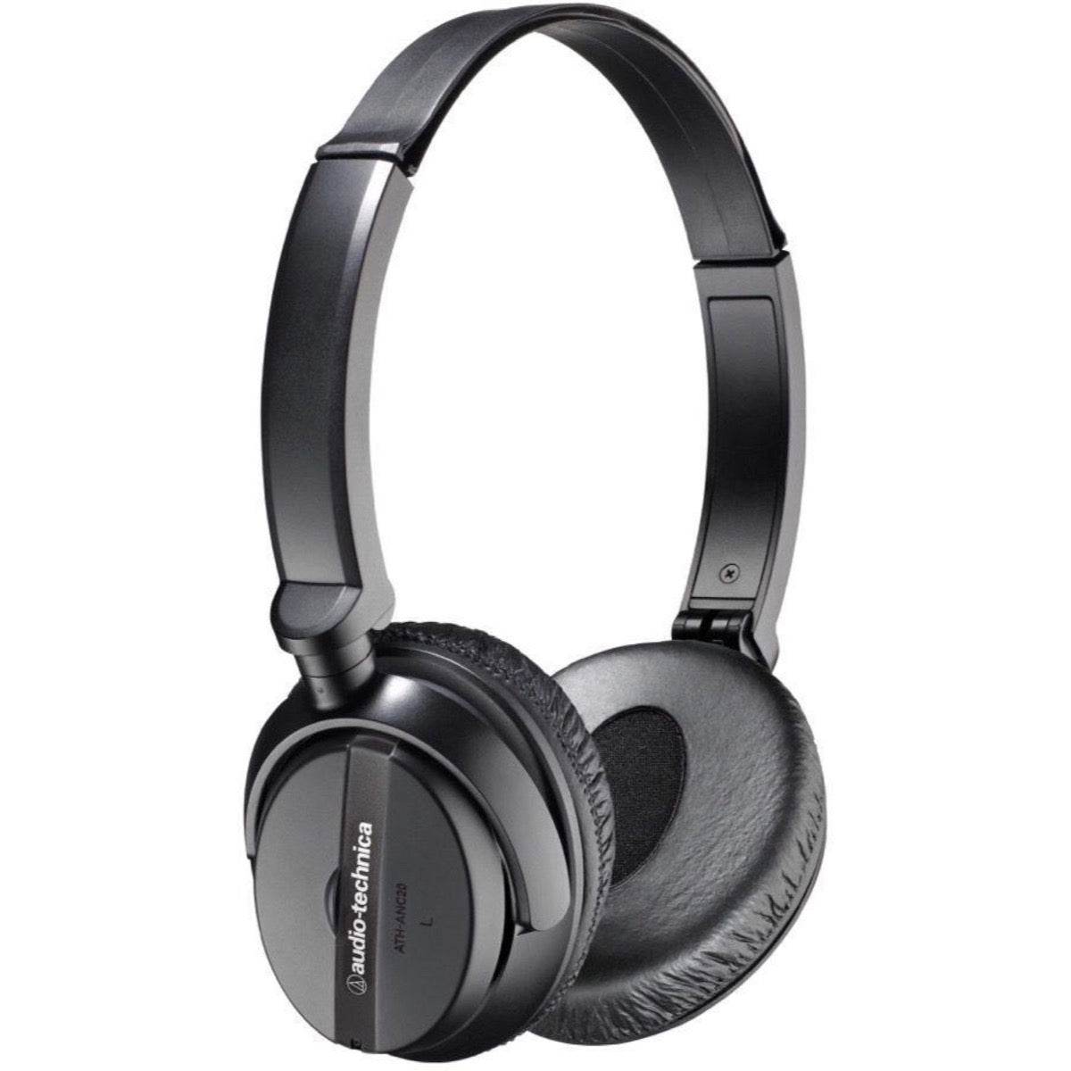 Audio-Technica ATH-ANC20 QuietPoint Noise-Cancelling Headphones