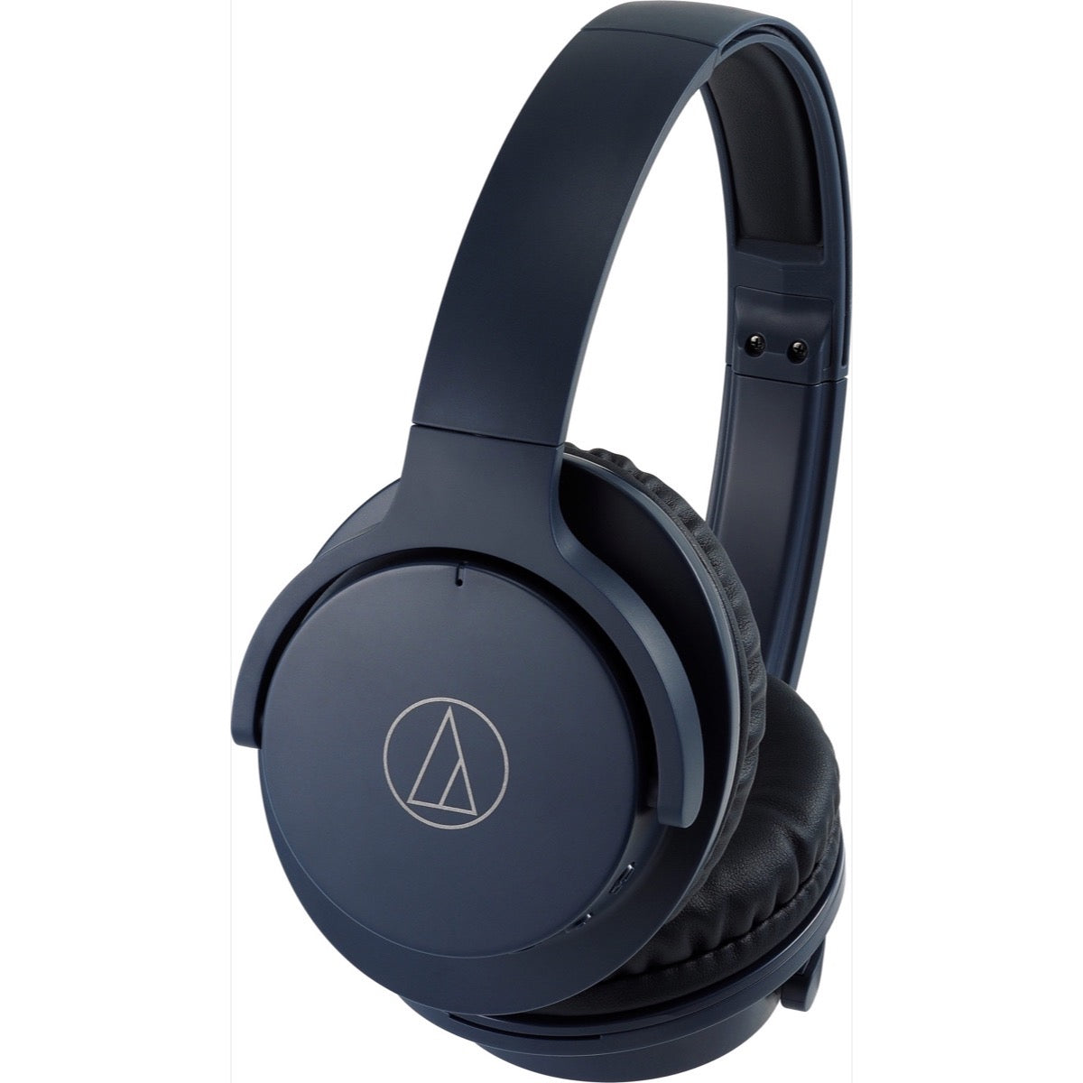 Audio-Technica ATH-ANC500BT Noise-Cancelling Headphones, Navy Blue
