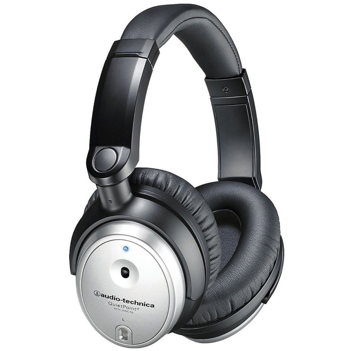 Audio-Technica ATH-ANC7b-SViS QuietPoint Noise-Cancelling Headphones
