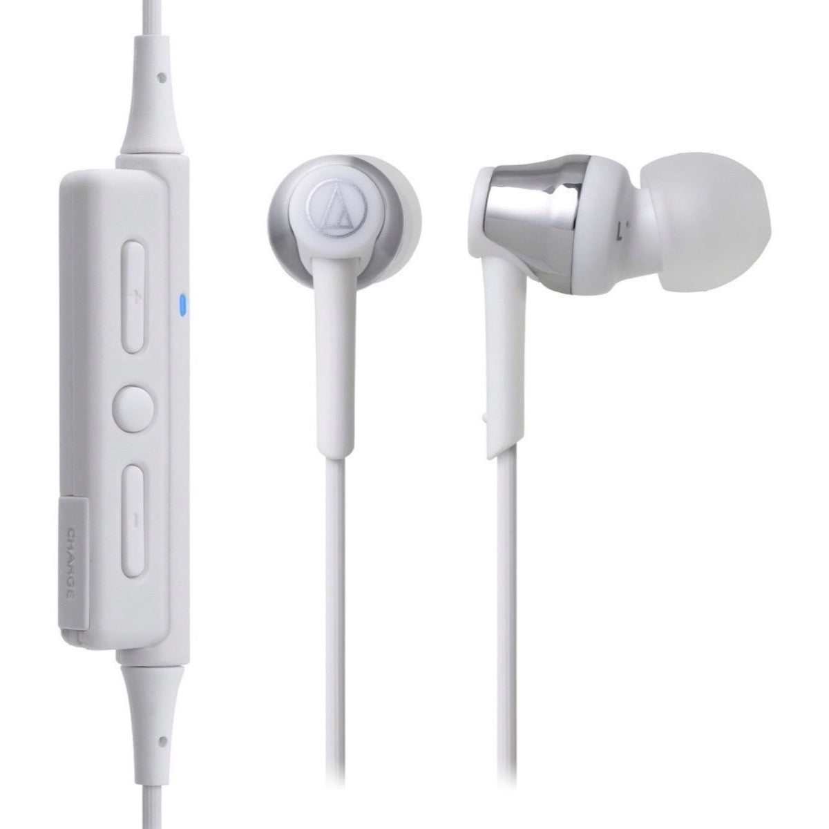 Audio-Technica ATH-CKR35BT Wireless In-Ear Headphones, Silver