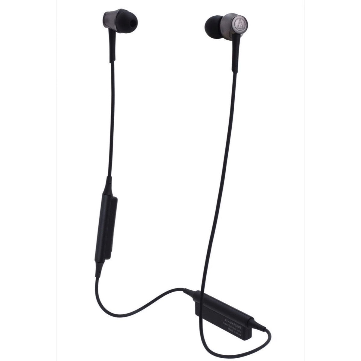 Audio-Technica ATH-CKR55BT Bluetooth In-Ear Headphones, Black