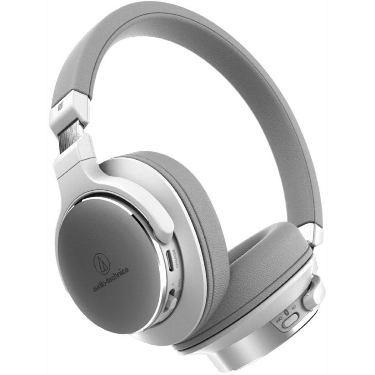 Audio-Technica ATH-SR5BT Wireless Bluetooth Headphones, White
