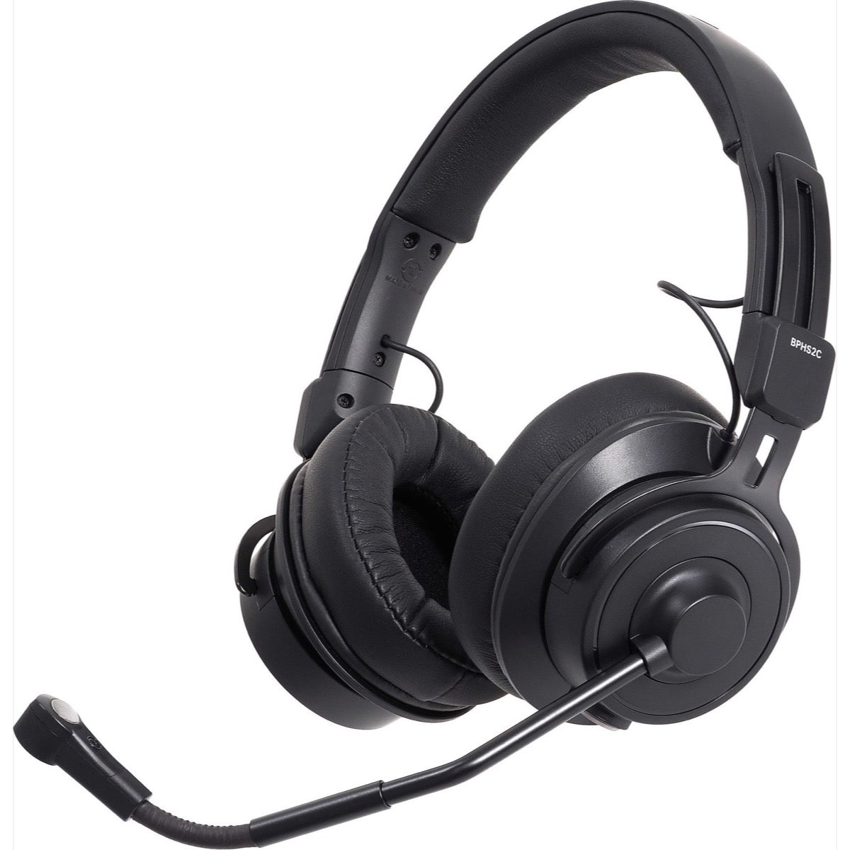 Audio-Technica BPHS2C Headset with Condenser Microphone, Cocoa, With XLR and TRS connectors
