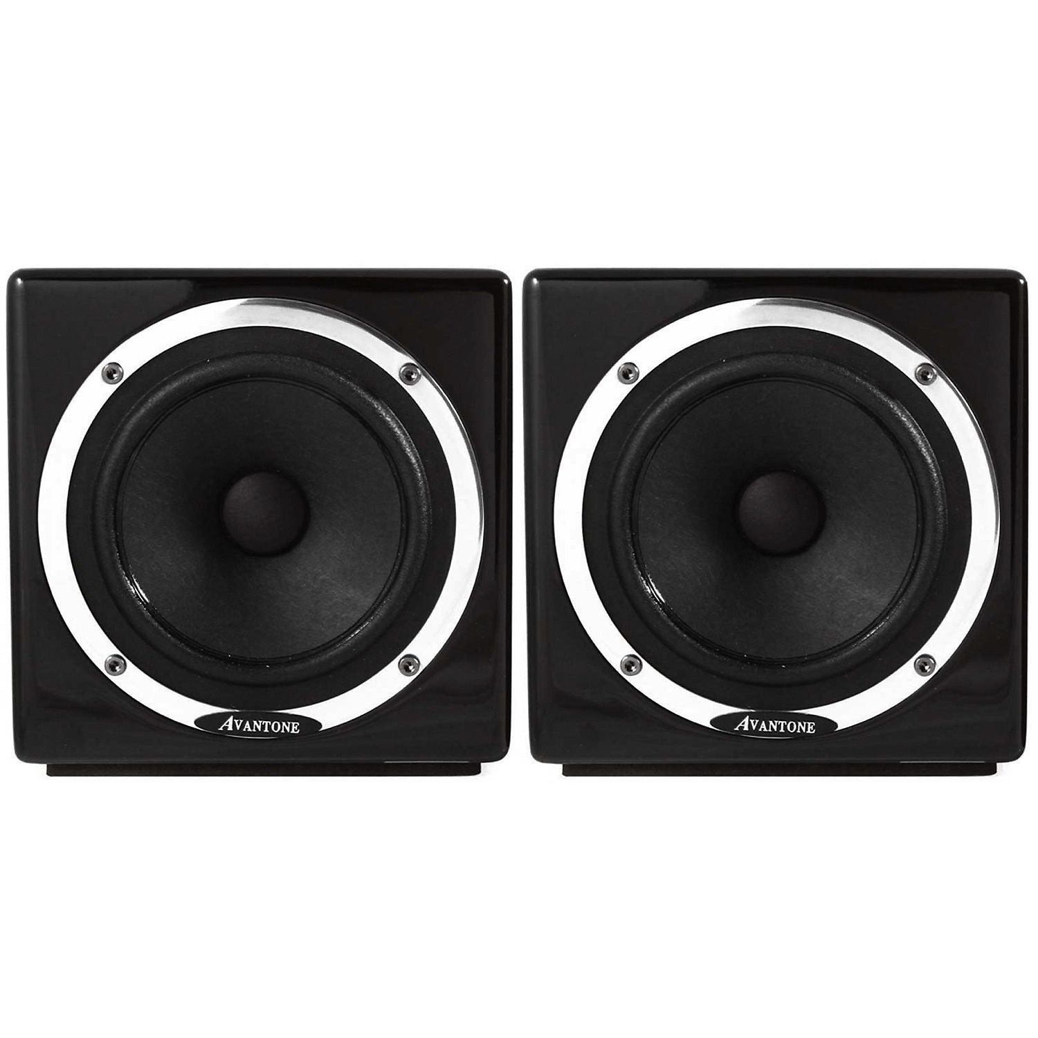 Avantone MixCubes Active Studio Monitor (60 Watts, 1x5.25 Inch), Black, Pair