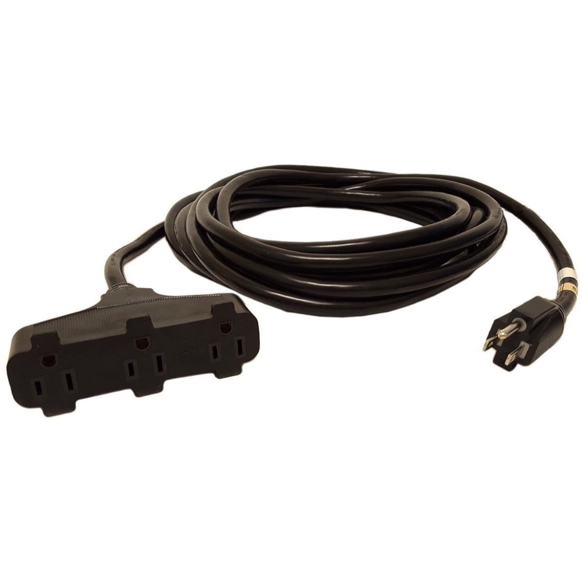 CBI TRIPT12 12-AWG Triple Tap Power Extension Cord, 25 Foot