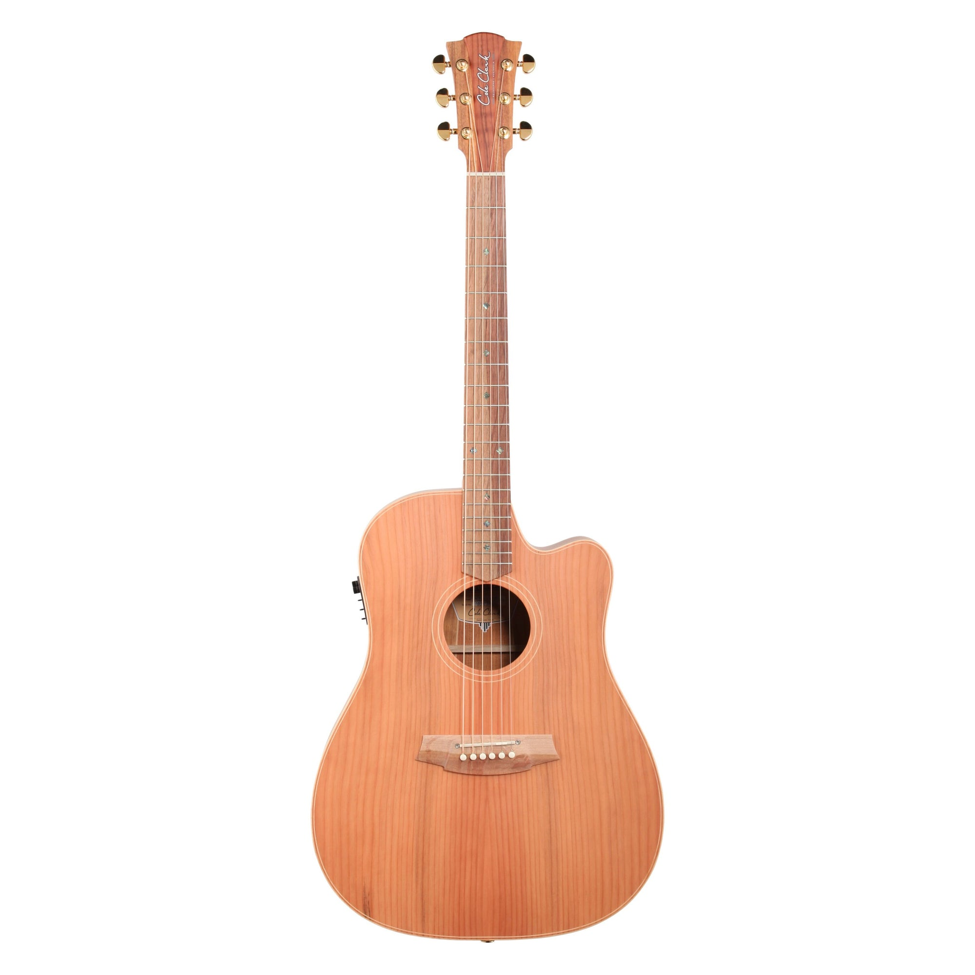 Cole Clark Fat Lady 2 Series Redwood Acoustic-Electric Guitar