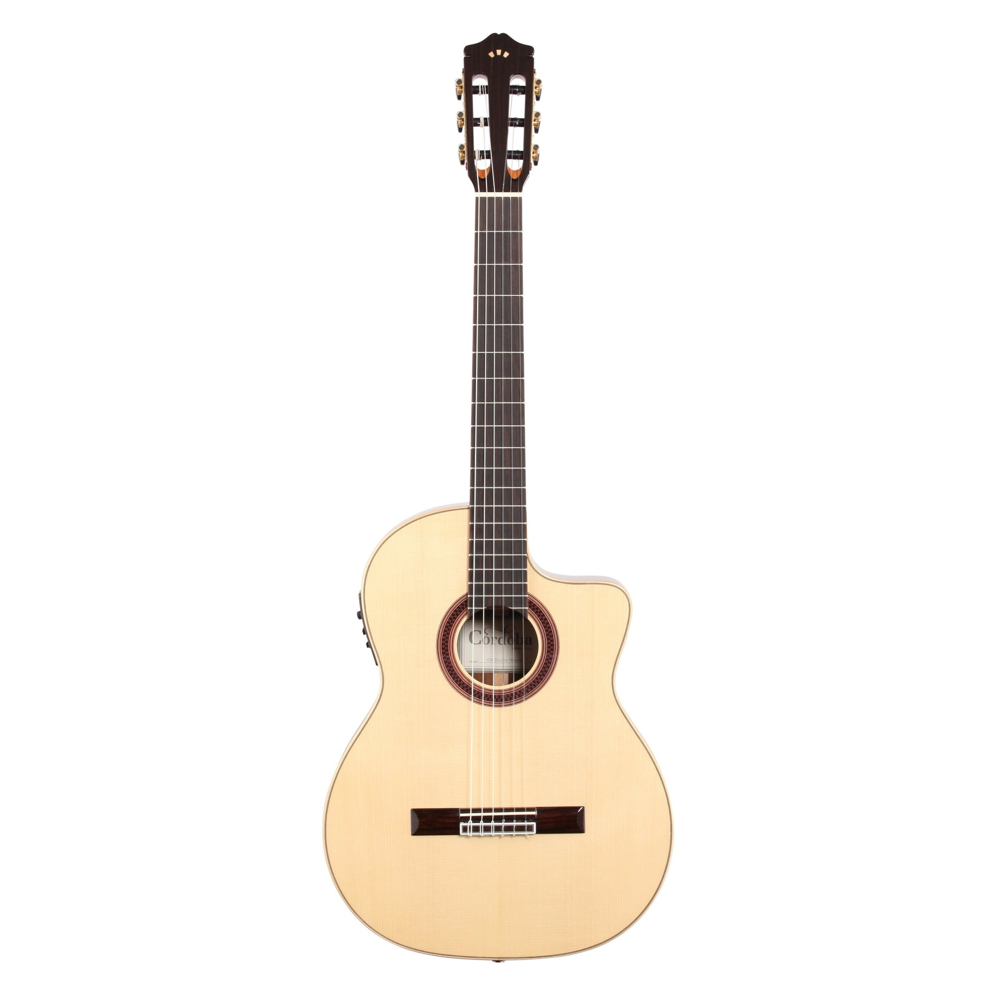 Cordoba GK Studio Negra Classical Acoustic-Electric Guitar