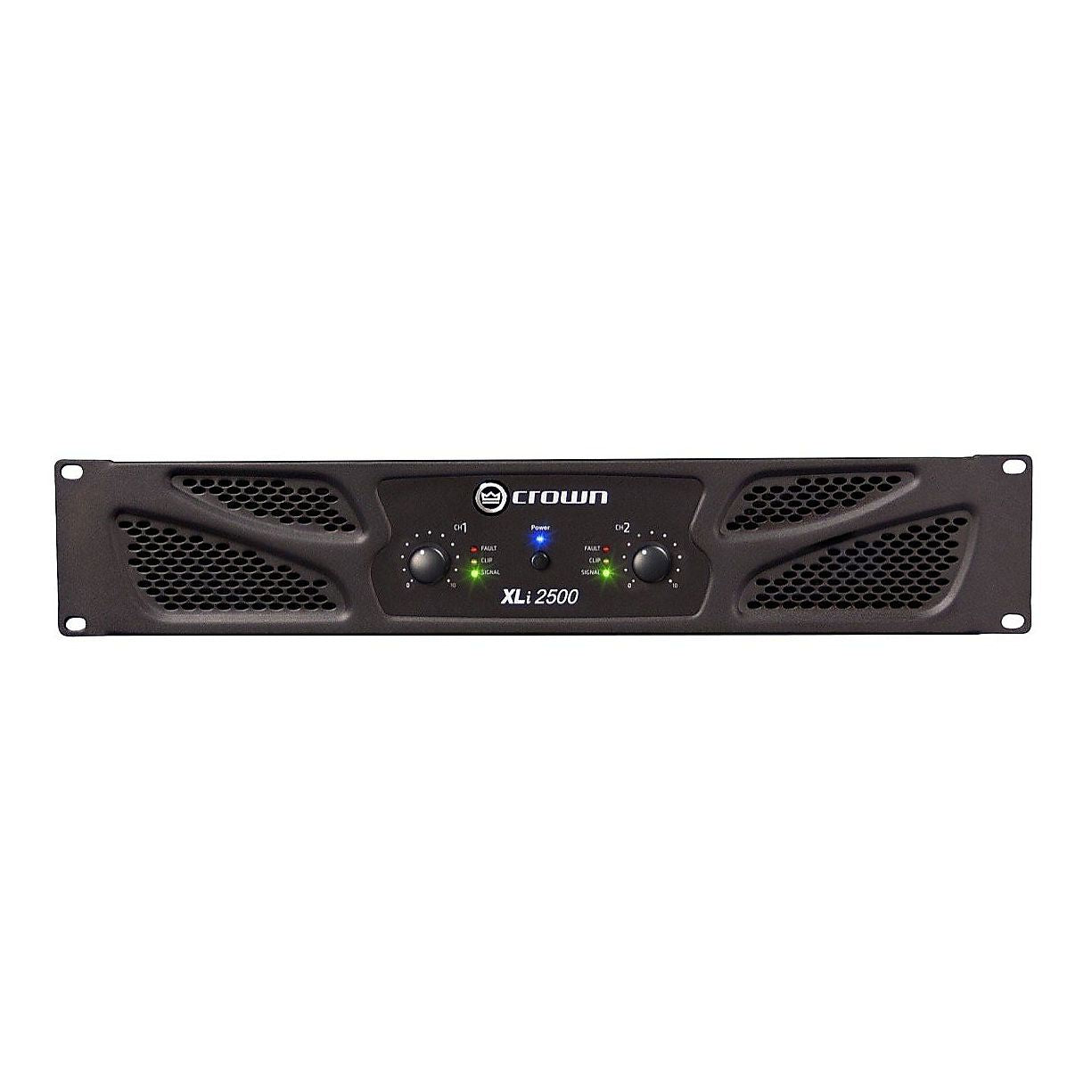Crown XLI2500 Power Amplifier (750 Watts)