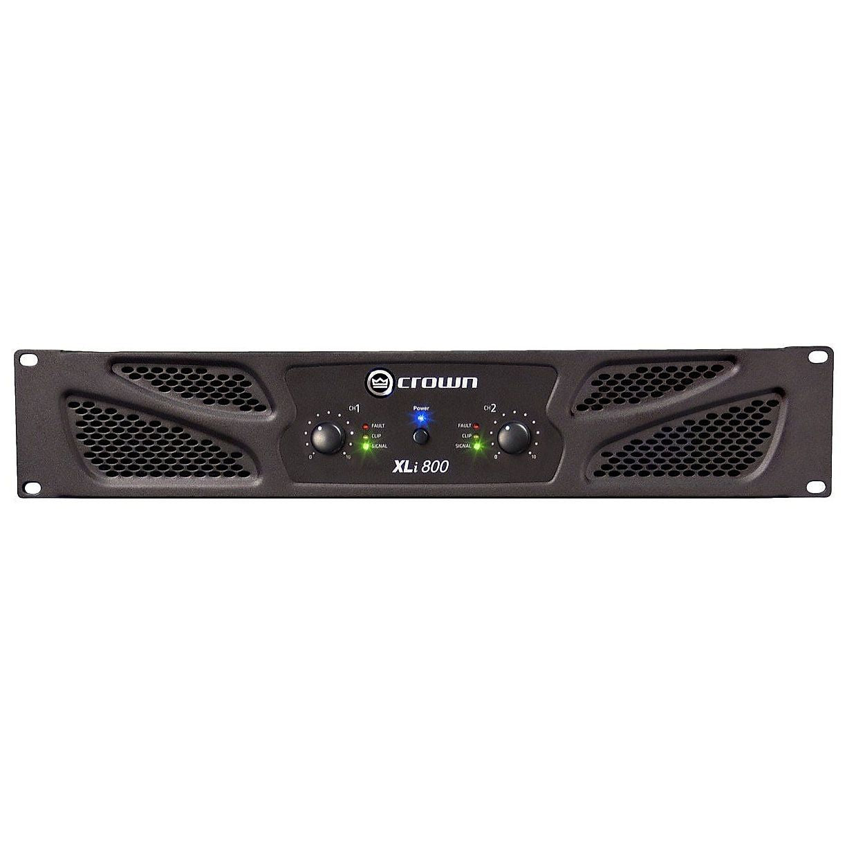 Crown XLI800 Power Amplifier (300 Watts)
