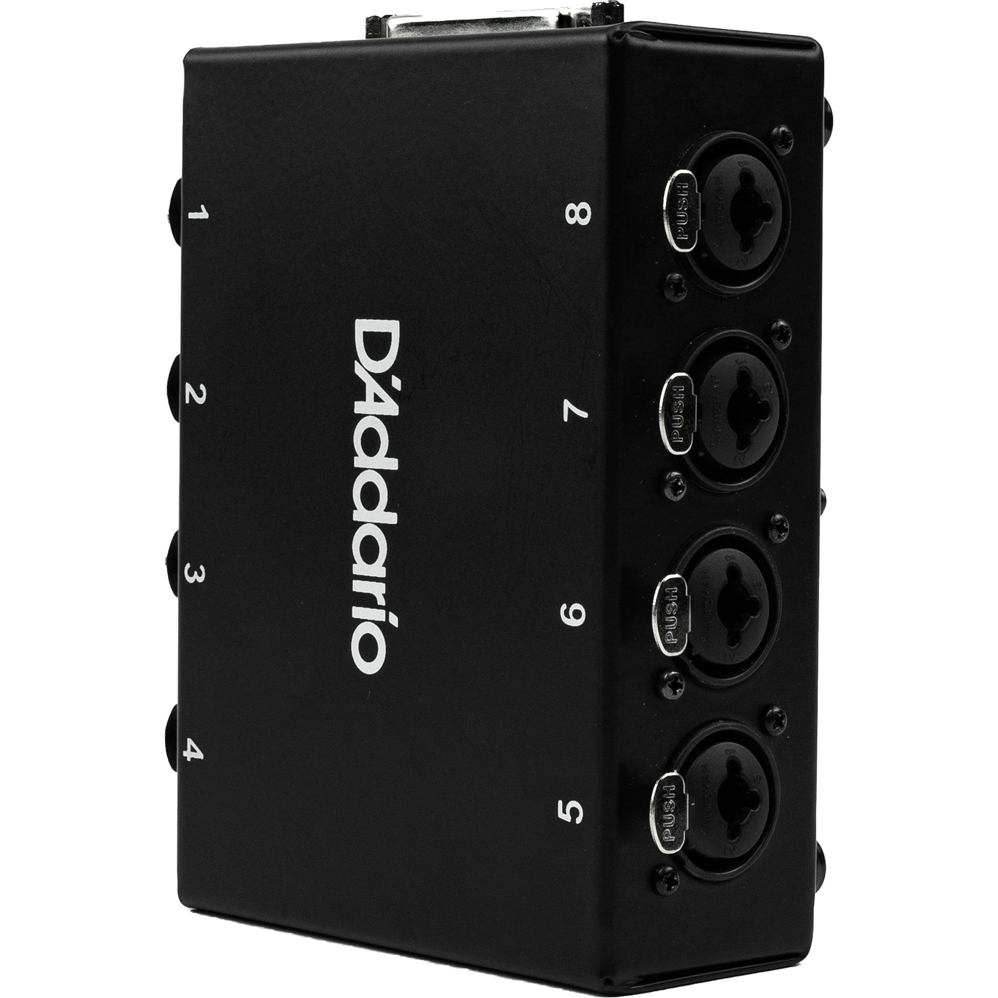 D'Addario Modular Snake System 8-Channel Stage Box