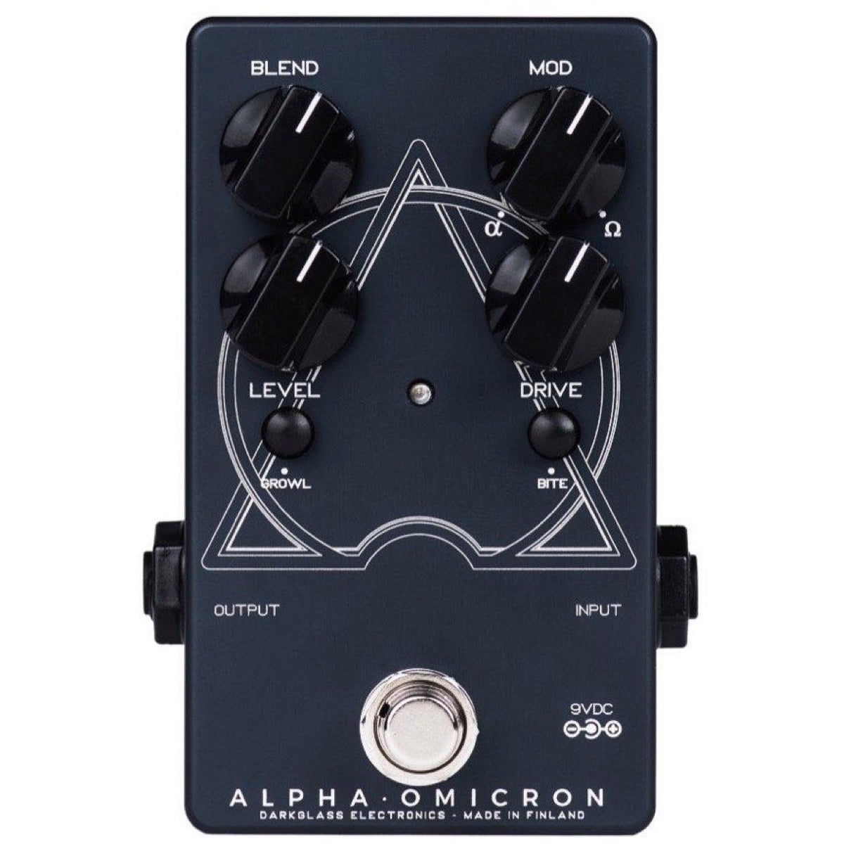 Darkglass Alpha Omicron Dual-Channel Bass Distortion Pedal